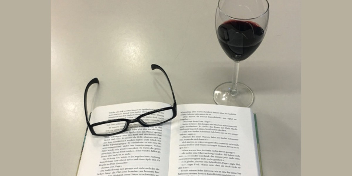 Titelbild des Events: Book and Wine, Geroldswil